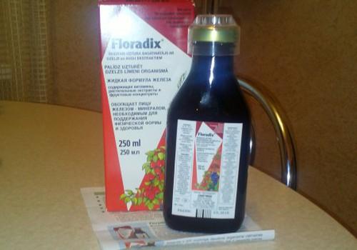 Ar Floradix® - spēka un enerģijas pieplūdums
