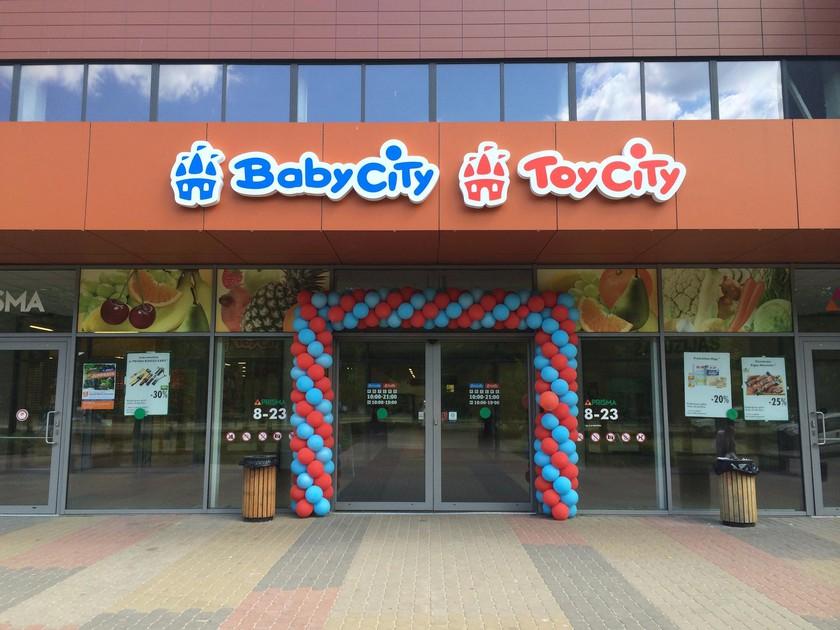 Baby City Toy City veikala atklāšanas svētki 4.-5. jūnijā ...