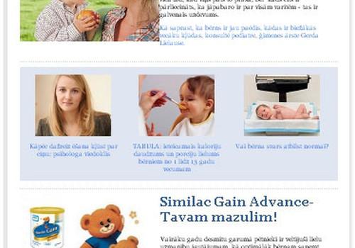 Savos e-pastos meklē jauno Mazuļa ēdināšanas e-žurnālu!