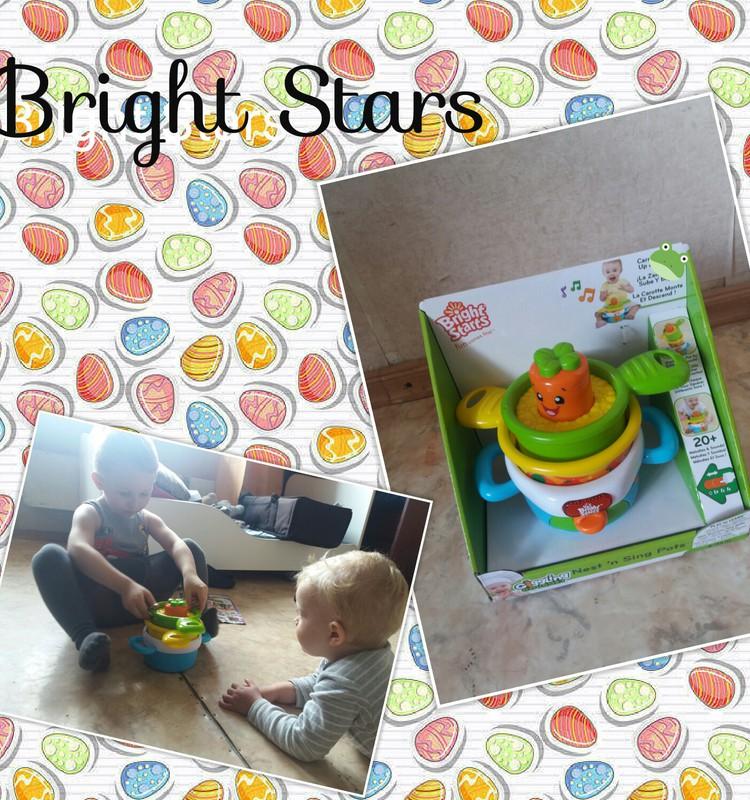 Produktu tests Bright Stars katliņi!