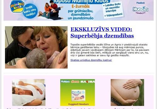 Jaunākie raksti par grūtniecību un dzemdībām E-žurnālā