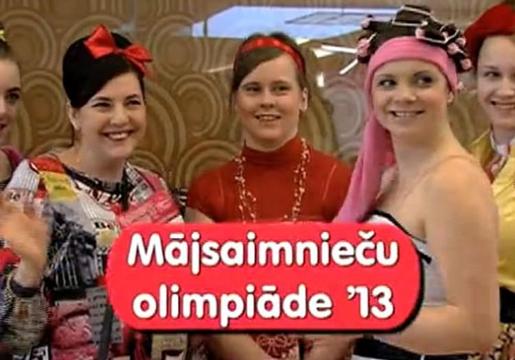 VIDEO: tiekamies 2.martā bīstamo mājsaimnieču olimpiādē 2013