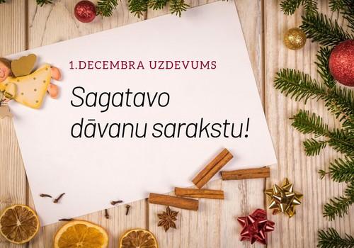 KONKURSS: Sagaidi 2019.gadu kopā ar Māmiņu Klubu. Ideja 1.decembrim!
