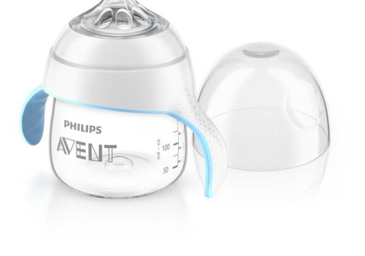 PHILIPS AVENT natural mācību pudelīte.