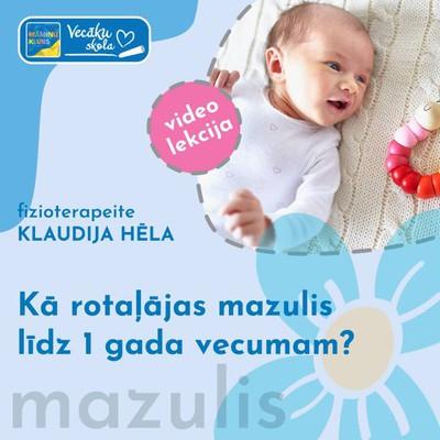 Kā rotaļājas mazulis līdz 1 gada vecumam