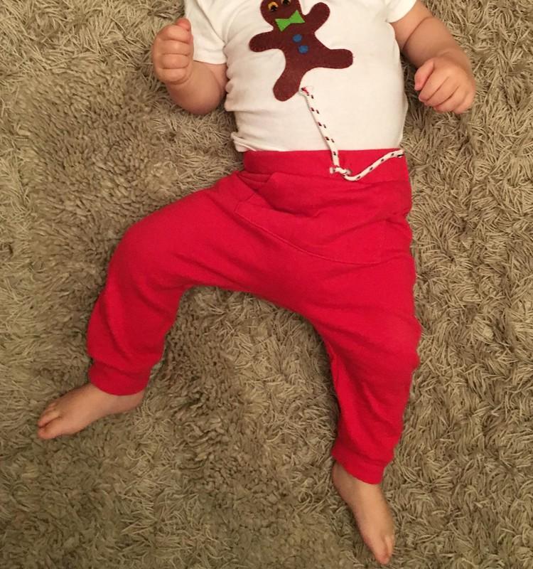 DIY svētku krekliņš mazulim