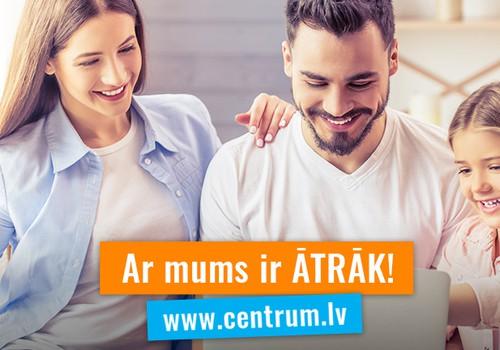 Padariet vasaras brīvlaiku un atvaļinājumus vēl patīkamākus ar CENTRUM!