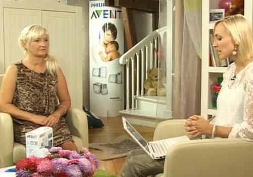ONLINE TV: videosaruna ar Elitu Svarenieci par krūts ēdināšanu