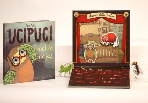 """Grāmatai """"Ucipuci meklē mājas"""" nepilna mēneša laikā izpārdota pirmā tirāža"""