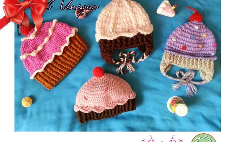 Huggies® svētku dāvanu katalogs: Kidunique tamborētās cepurītes