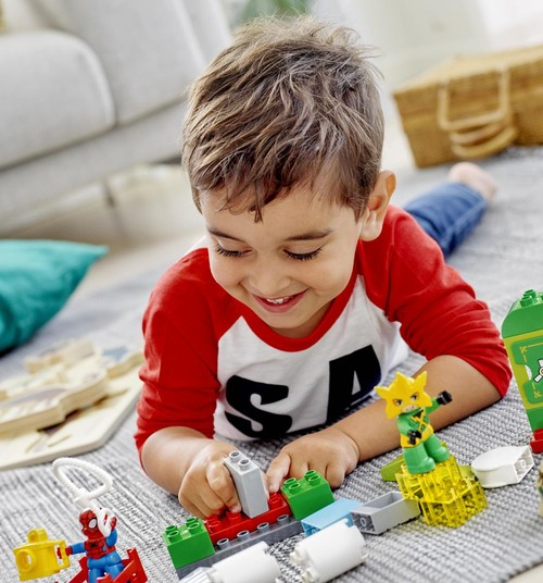 Laimē LEGO Duplo STEAM Train ONLINE TV!