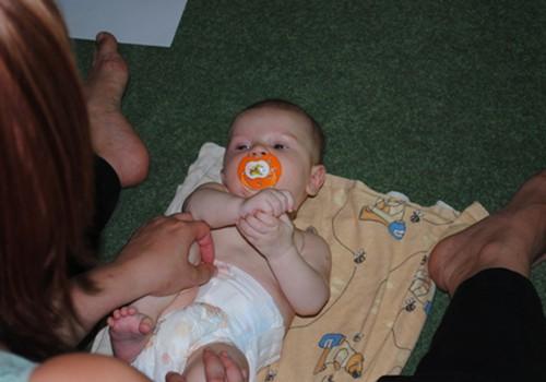 Jūlijā notiks vēl viena mazuļa masāžas nodarbība!