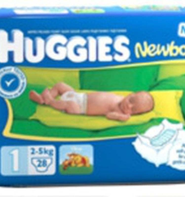 Vai Huggies® Newborn autiņbiksītes ir pieejamas lielajos iepakojumos?