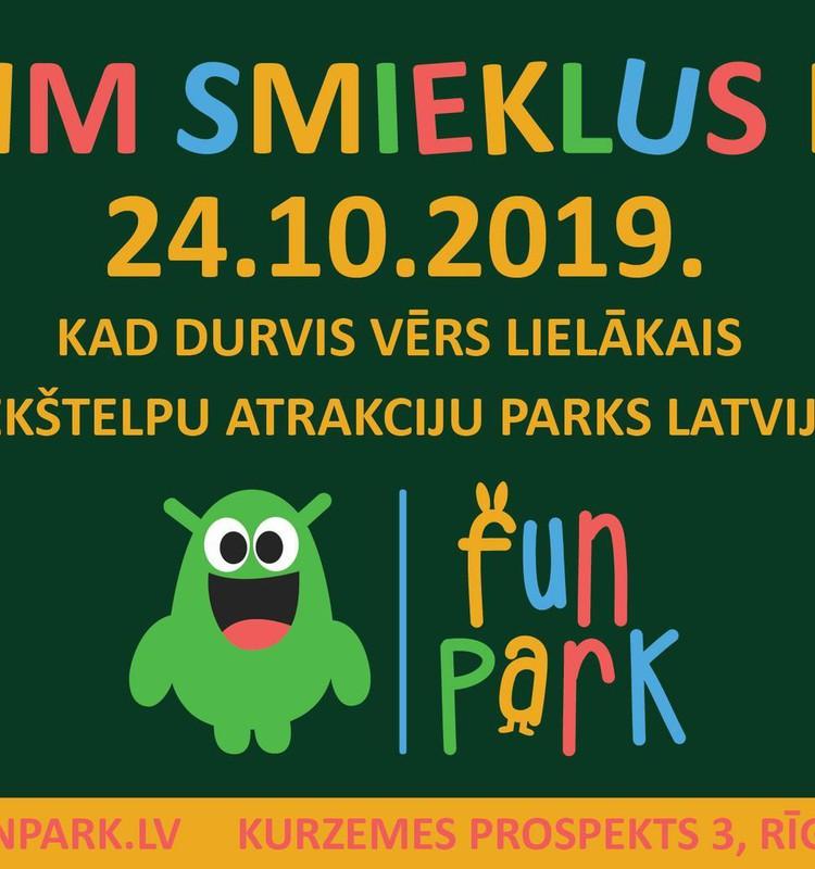 Ķer smieklus FunParkā!
