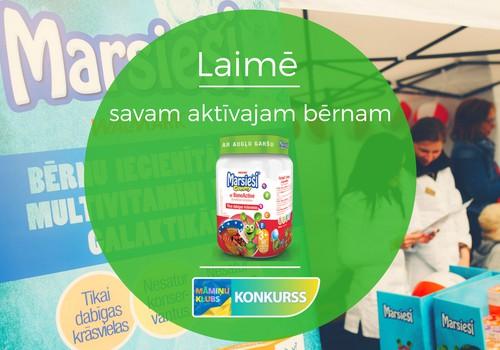 KONKURSS: Laimē savam aktīvajam bērnam vitamīnus Marsieši® Gummy ar BoneActive!