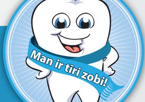 ANIMĀCIJAS filmiņa: Man ir tīri zobi! Noskatieties kopā ar bērnu!