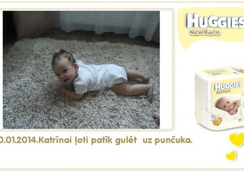 Katrīna aug kopā ar Huggies® Newborn: 96.dzīves diena