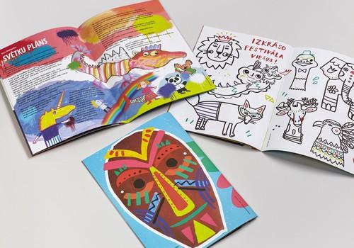 Latvijas mākslinieku un autoru komanda ilustrējusi jau ceturto Pikolo žurnālu bērniem