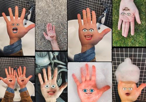 NOKLAUSIES: ar līksmu roku mazgāšanas dziesmu sevi piesaka apvienība Bubble Boyz