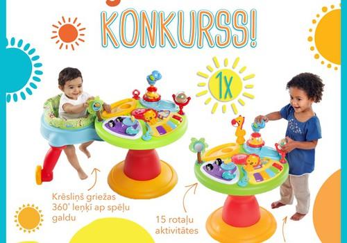 Kurš mazulis turpmāk rotaļāsies ar jaunu aktivitāšu centriņu?