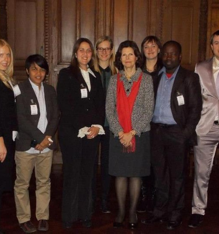 Māmiņu Kluba tikšanās ar Zviedrijas karalieni - bērnu tiesības un to ievērošana