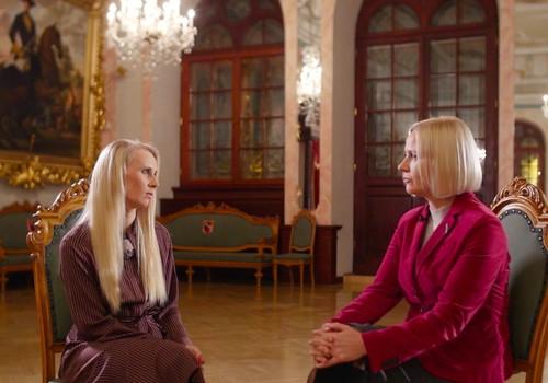 """Santa Purgaile: """"Latvijas sievietes ir varošas, spējīgas un mērķtiecīgas"""""""
