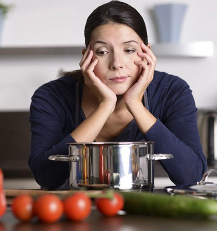 Kad virtuvē iestājas rutīna.