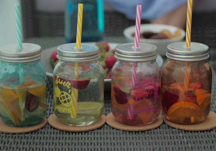 Vislabākais dzēriens vasarā - ūdens