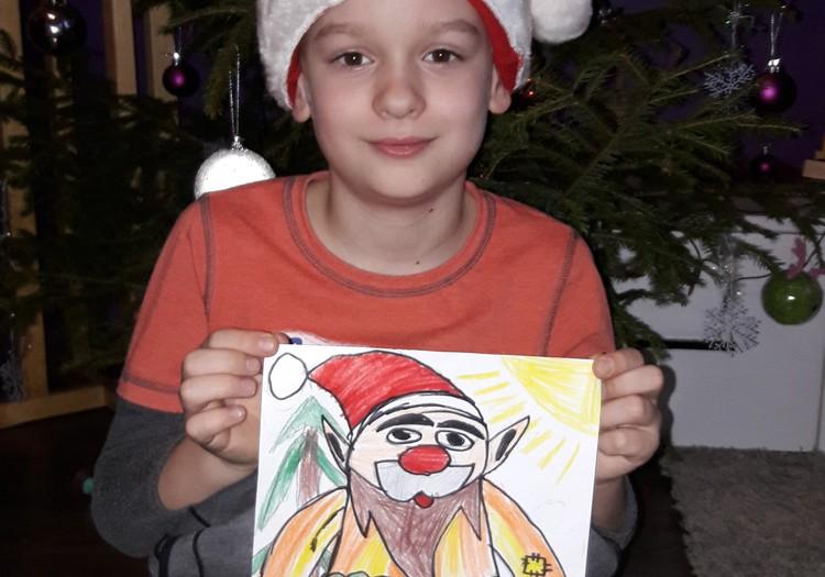 Ziemassvētku brīnums- rūķis.