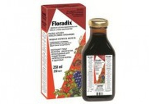 Dzelzs rezerves ar Floradix® papildinās..