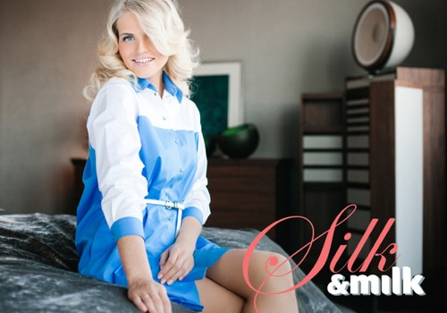 Mammu bizness: Silk&Milk Dizaina apģērbs jaunajām māmiņām un ne tikai!