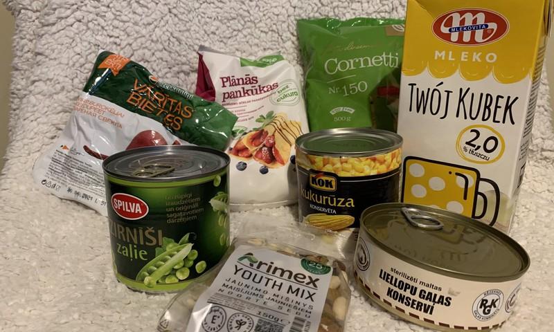 Kas atrodas tava skolēna pārtikas pakā?