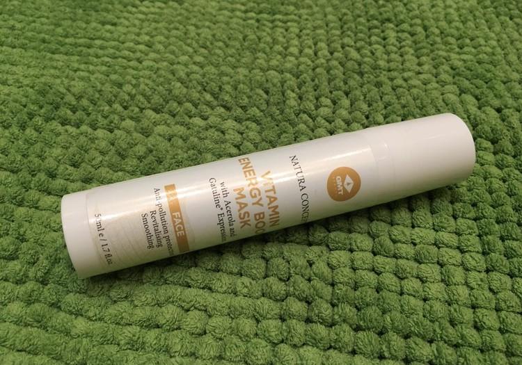 GMT Beauty vitamīnu enerģijas maska - lai noslēptu nogurušās mammas pēdas no sejas