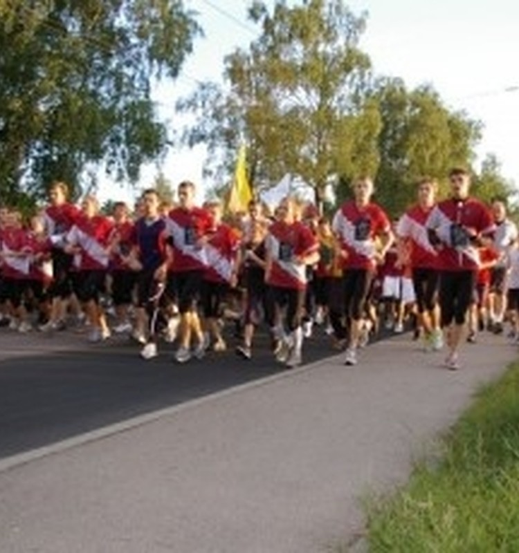 Skrējienā 'Sirdspuksti Baltijai' kopumā piedalījušies vairāk kā 60 000