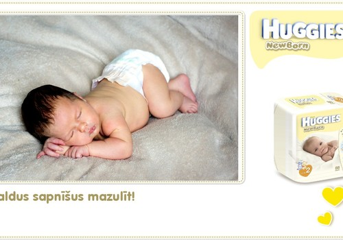Katrīna aug kopā ar Huggies® Newborn: 42.dzīves diena