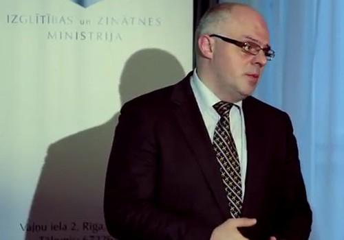 VIDEO: Izglītības un zinātnes ministrs Roberts Ķīļis piedāvā 4 reformas izglītībā