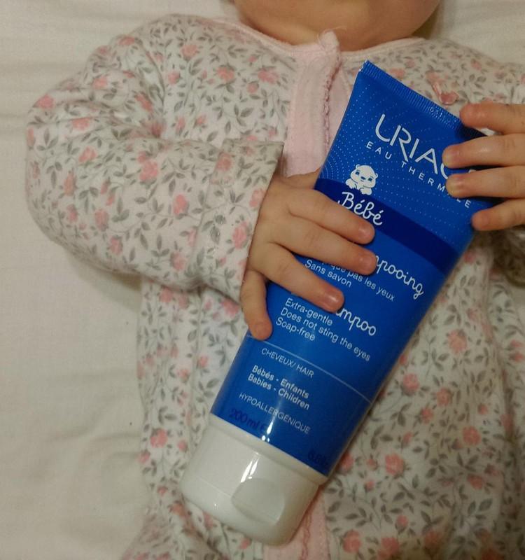 Māsiņas testē Uriage Baby šampūnu