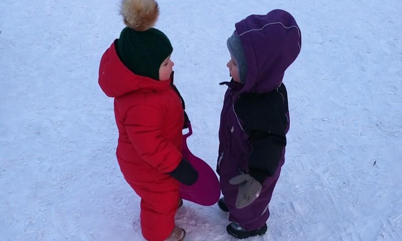 Pirmie soļi, gatavojoties bērnudārzam!