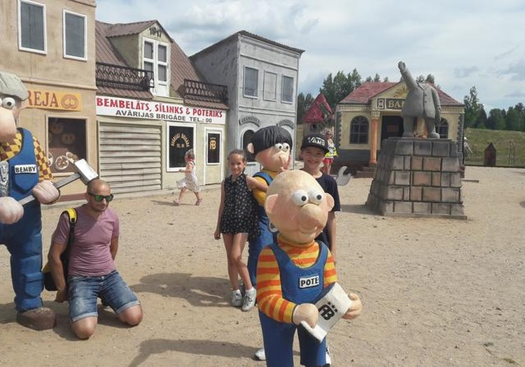 Avārijas Brigādes izklaides un atpūtas parka apmeklējums