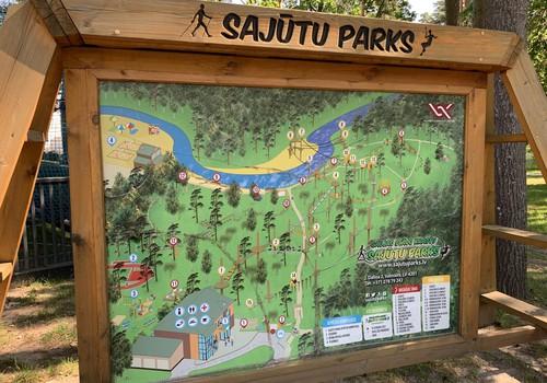 VASARAS GIDS: Baskāju taka Valmieras Sajūtu parkā