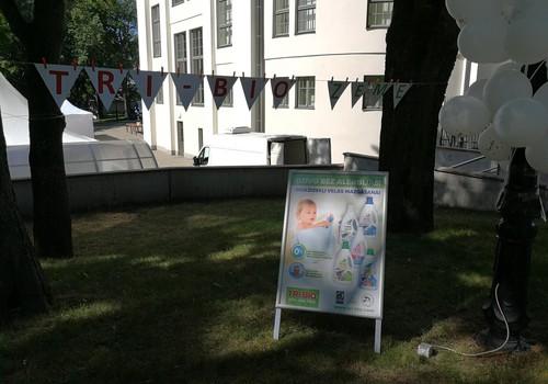 Māmiņu kluba Vasaras festivāla ekoloģiskākais draugs - TRI-BIO