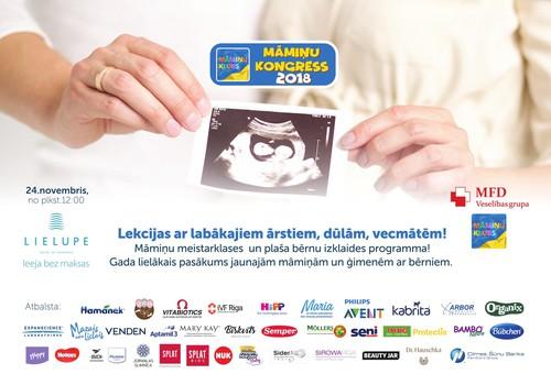 KONKURSS: Gaidot Māmiņu Kluba Simtgades kongresu