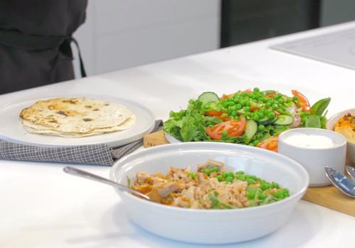 VideoRECEPTE: Tortiljas ar turku zirņu krēmu un gaļu