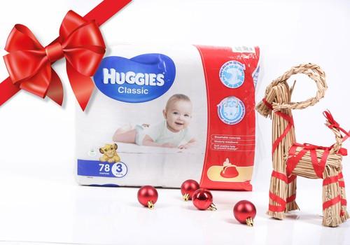 Sagaidi svētkus kopā ar Huggies® Classic! Ikdienas Adventes kalendārs ar lieliskām balvām!