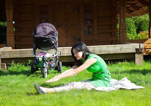 FOTO: Vingrojumi, ko vari veikt, dodoties pastaigā ar mazuli