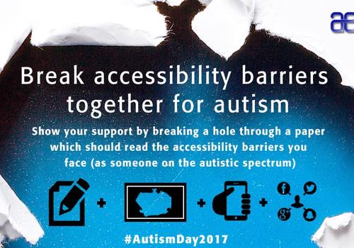 Lauzt šķēršļus autismam!