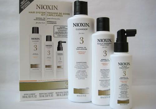 Nioxin matu kopšanas komplekta testēšana