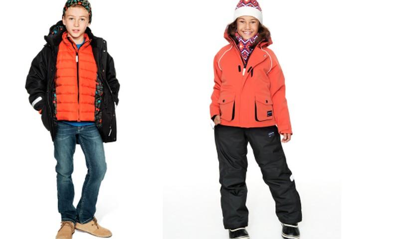 Kā izvēlēties bērnam siltas drēbes