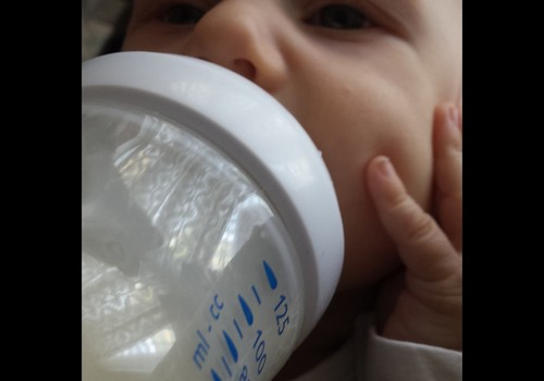 Henrija pirmā pudelīte- Philips AVENT Natural