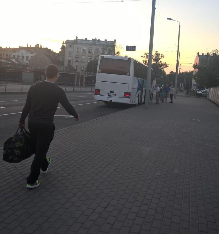 Ceļā uz Slovākiju